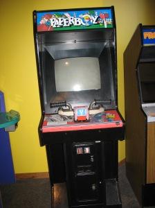 Paperboy arcade game
